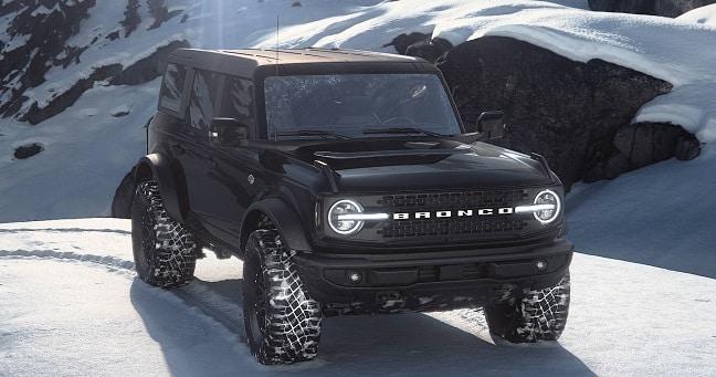 Bronco Shadow Black