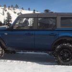 Ford Bronco Antimater blue