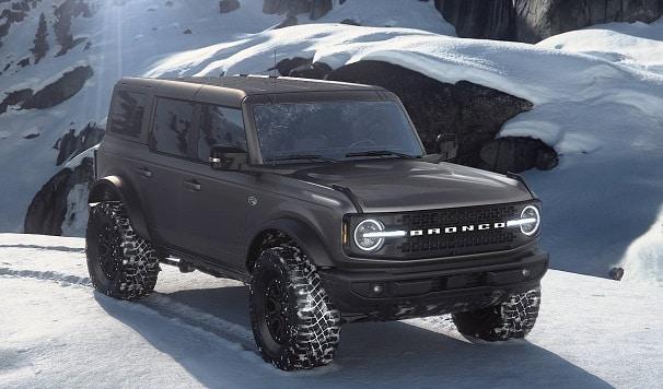 Bronco carbonized gray