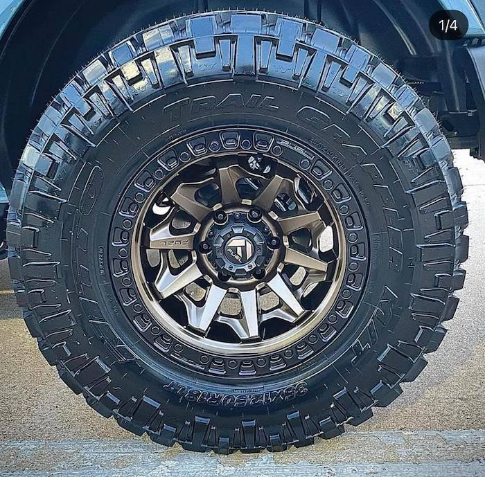 Bronco Wheel shot #1 in best ford bronco mods